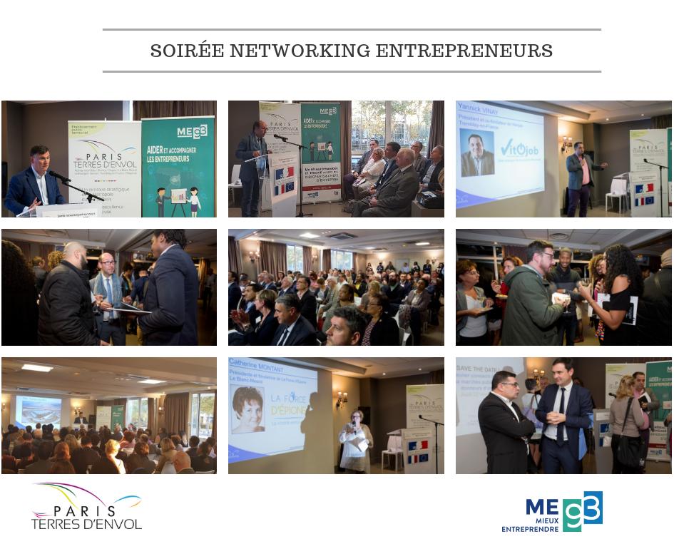 Soirée networking entrepreneurs